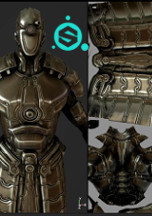 Mapas de Textura com Substance Painter